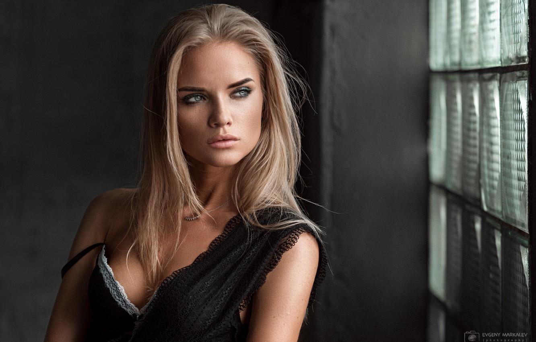 Photo wallpaper model, pretty, blonde, Eugene Marklew