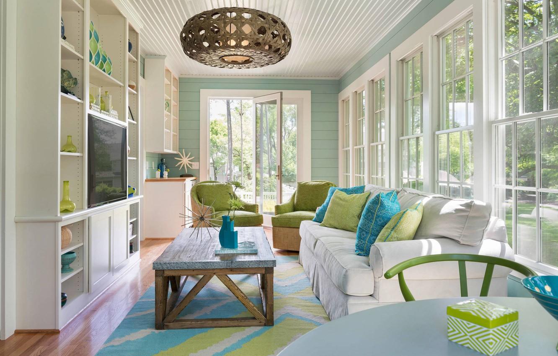 GoodFon & Wallpaper Windows interior windows living room mid ...