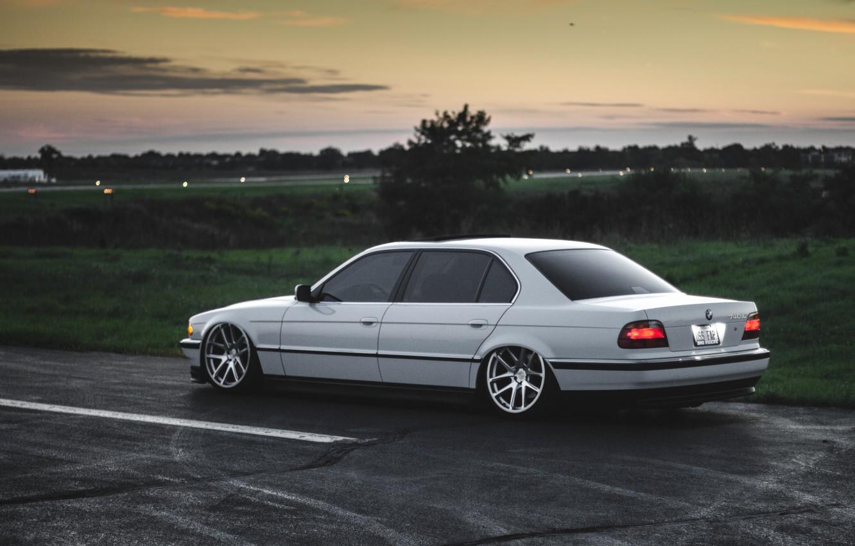 Photo wallpaper car, bmw, BMW, Boomer, e38, 7 series, E38