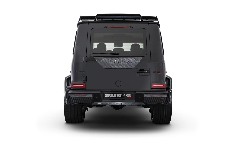 Photo wallpaper Mercedes-Benz, Brabus, rear view, AMG, G-Class, Gelandewagen, G63, 2019, G V12 900, One of Ten