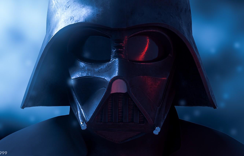 Photo wallpaper fiction, mask, Star Wars, art, Darth Vader, art