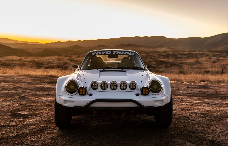 Photo wallpaper 911, Porsche, chandelier, front view, 964, 2019, 911 Baja Prototype, Russell Built Fabrication