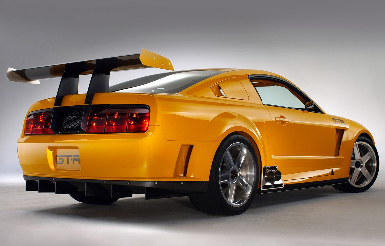 Photo wallpaper Concept, Mustang, Ford, GT-R, 2004
