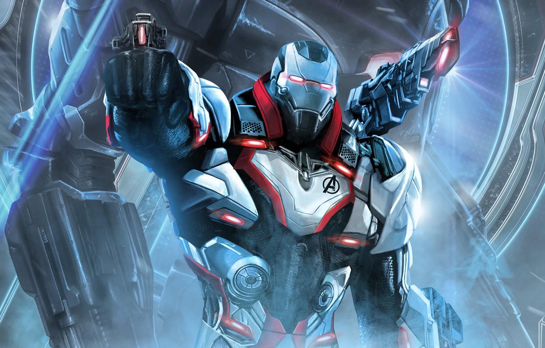 Wallpaper Robot Art Avengers Endgame Images For Desktop Section