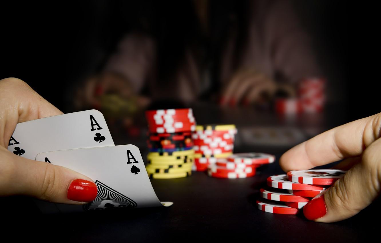 Wallpaper card, poker, casino images for desktop, section игры - download