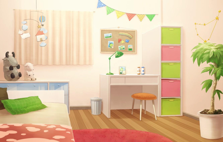 Photo wallpaper Room, Art, Interior, heriki (trkj)