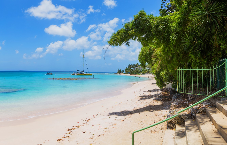 Photo wallpaper beach, the ocean, beach, ocean, Caribbean, caribbean, saint-peter