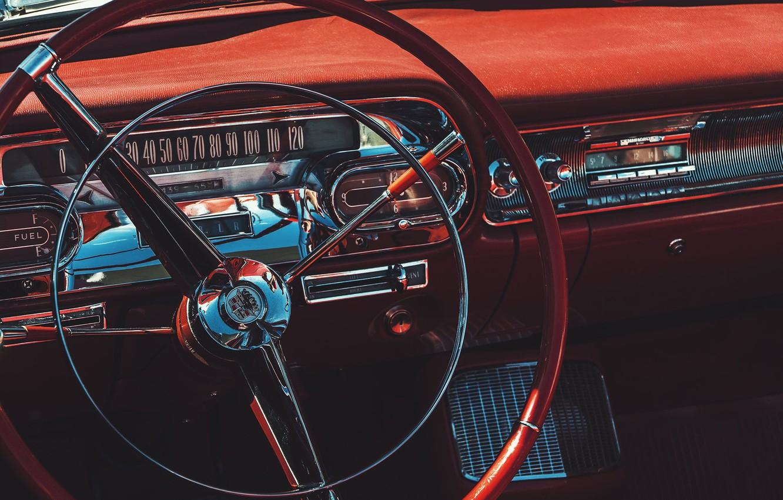 Photo wallpaper radio, speedometer, the wheel, Daniel von Appen