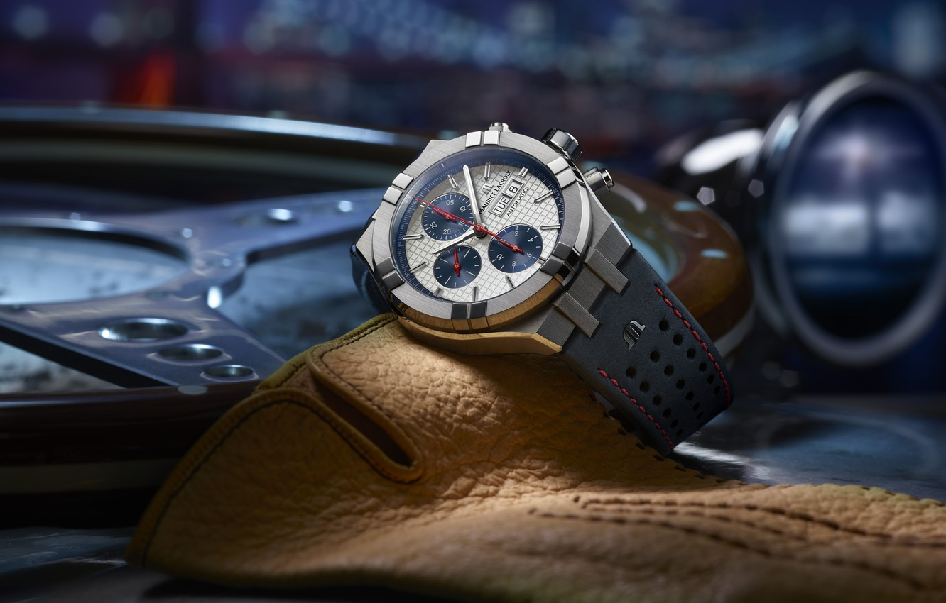 Wallpaper Swiss Luxury Watches Swiss Wrist Watches Luxury Analog Watch Maurice Lacroix Maurice Lacroix Aikon Automatic Chronograph Maurice Lacroix Images For Desktop Section Stil Download