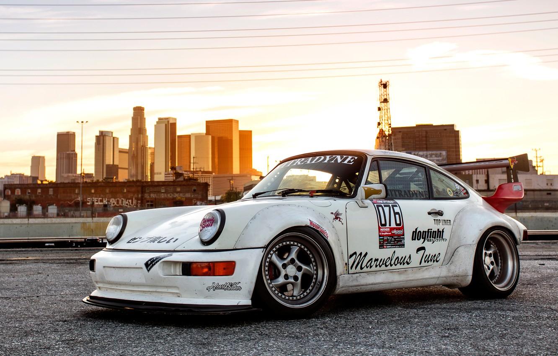 Photo wallpaper Porsche, 964, Porsche 964