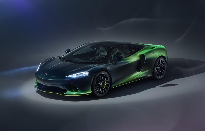 Photo wallpaper McLaren, supercar, MSO, 2020, McLaren GT, Verdant Theme