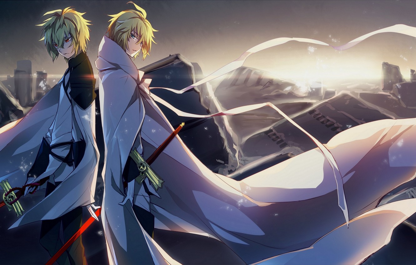 Wallpaper Owari No Seraph Michaela Hakua The Last Seraphim