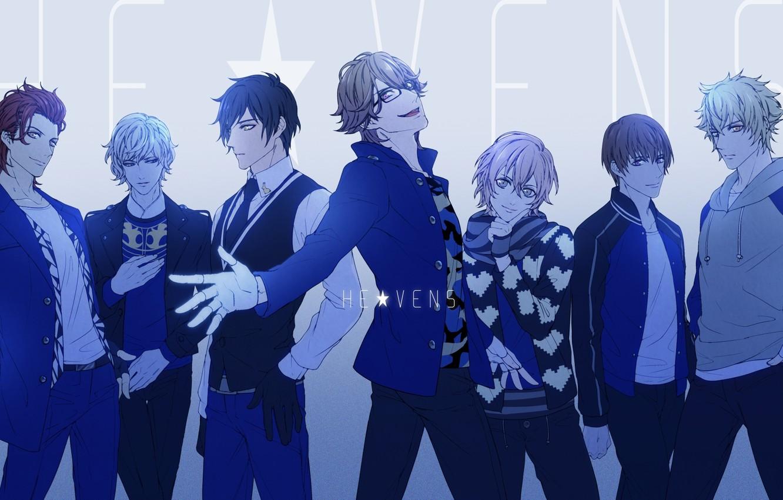 Photo wallpaper group, anime, art, guys, Uta no Prince-sama