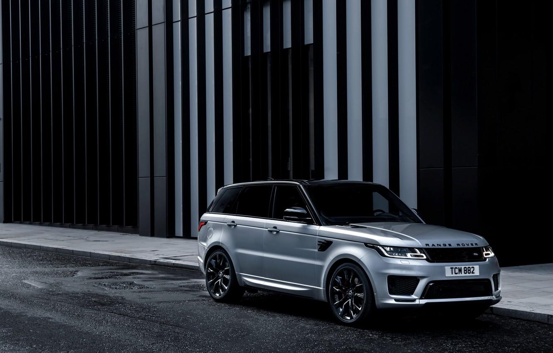 Photo wallpaper Land Rover, Range Rover, Range Rover Sport, crossover, 2020, HST