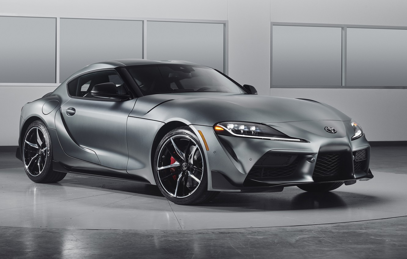 Photo wallpaper Toyota, Supra, 2020, 2020 Toyota GR Above