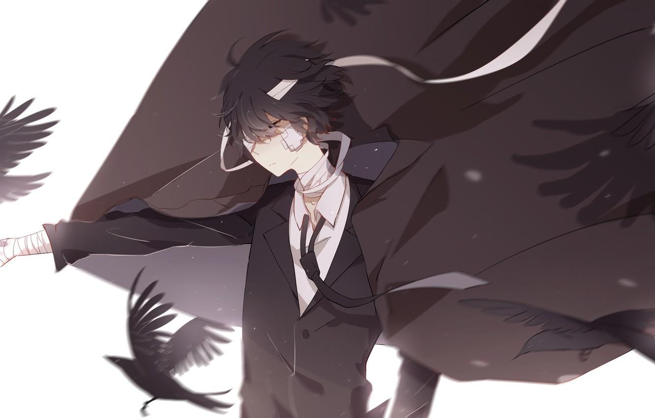 Wallpaper Crows Bungou Stray Dogs Dasi Stray Dogs A Literary