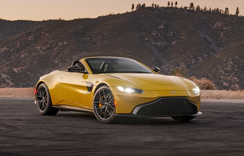 Photo wallpaper Aston Martin, Roadster, Vantage, 2021