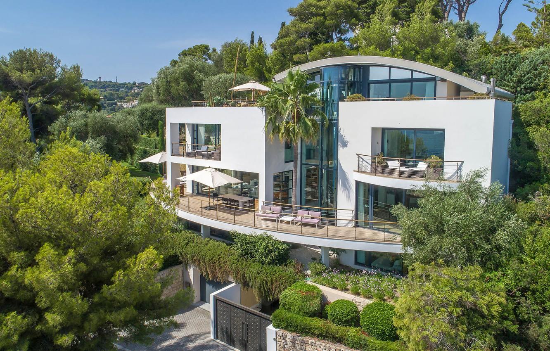 Photo wallpaper France, garden, Luxury villa, St. Jean Cap Ferrat