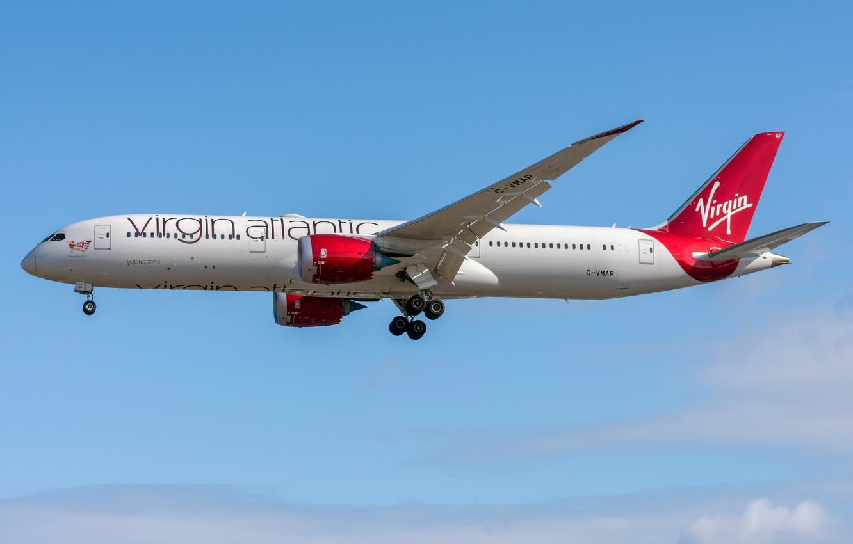 Photo wallpaper Boeing, 787-9, Virgin Atlantic Airways