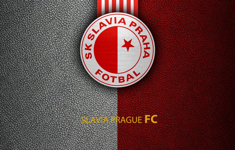 Photo wallpaper wallpaper, sport, logo, football, Slavia Prague