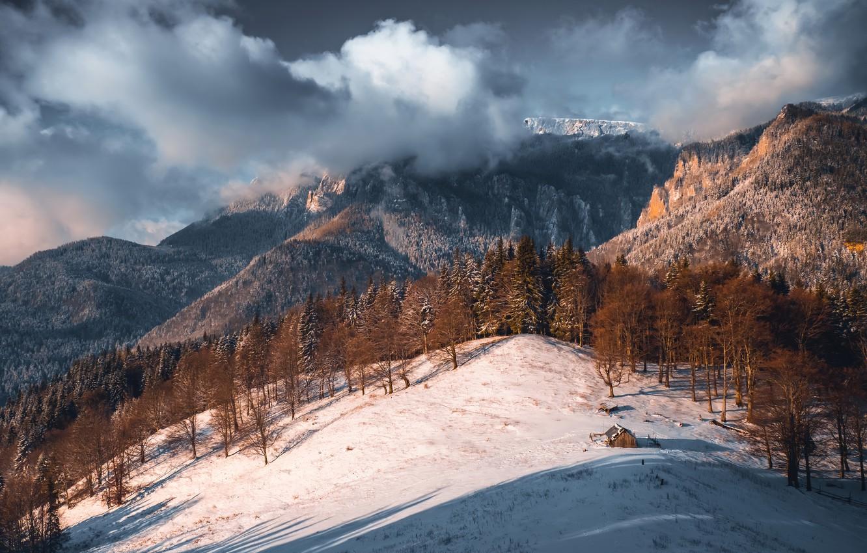 Photo wallpaper landscape, nature, mountain
