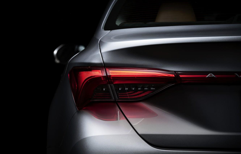 Photo wallpaper headlight, Toyota, 2018, Avalon, feed, Limited Hybrid