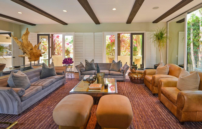 Photo wallpaper room, interior, living room, Villa Carmelita