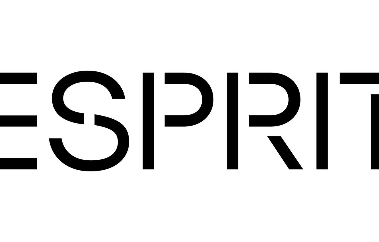 Photo wallpaper logo, white, black, Esprit, esprit