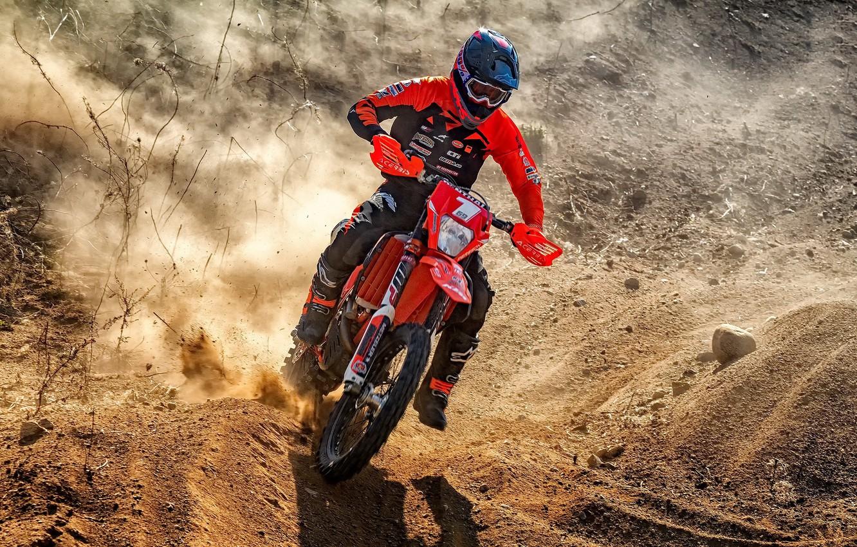 Photo wallpaper race, sport, motorcycle