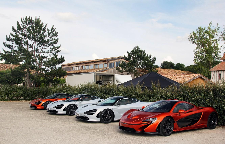 Photo wallpaper auto, McLaren, pine, McLaren P1, 720S