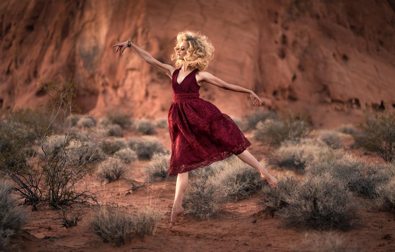 Photo wallpaper nature, dance, ballerina