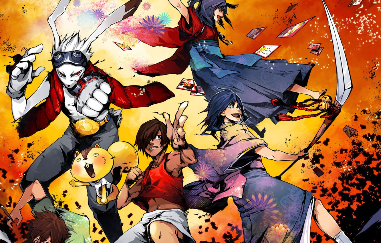 Wallpaper Animals People Hare Fantasy 2009 Summer Wars Year War Images For Desktop Section Syonen Download