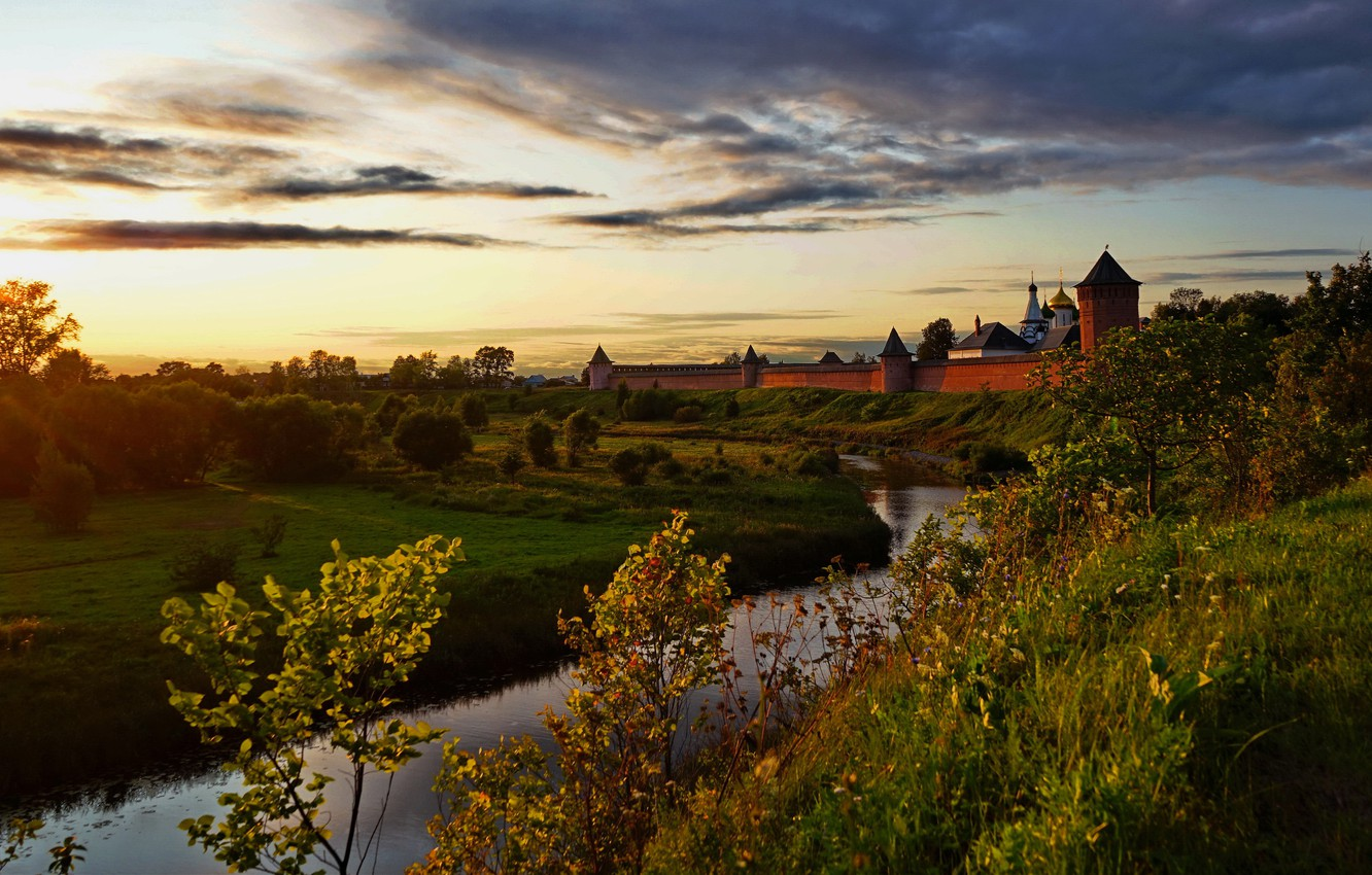 wallpaper sunset the city background wallpaper the monastery suzdal images for desktop section gorod download wallpaper sunset the city background