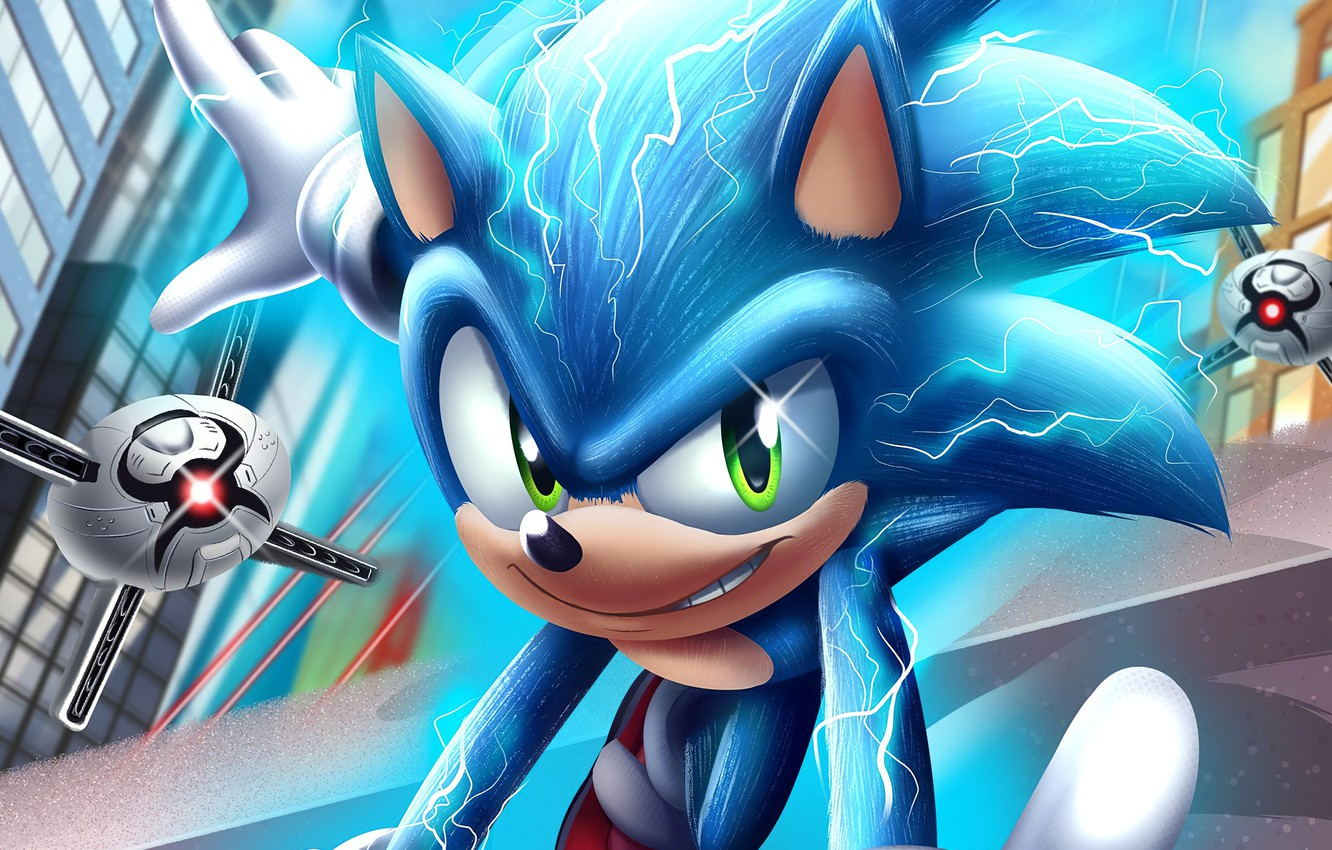 Wallpaper Drones Sonic The Hedgehog Sonic Movie Images For