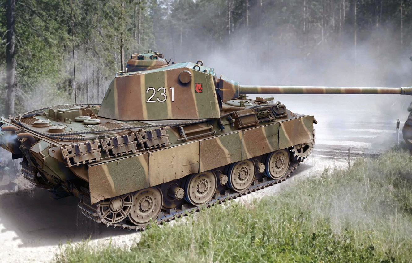 Photo wallpaper Germany, Panther, tank, the Wehrmacht, average, Panther 2, Panther II, panzerwaffe, Pz.Kpfw. V
