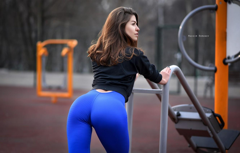 Photo wallpaper ass, look, model, Girl, legs, Maxim Romanov