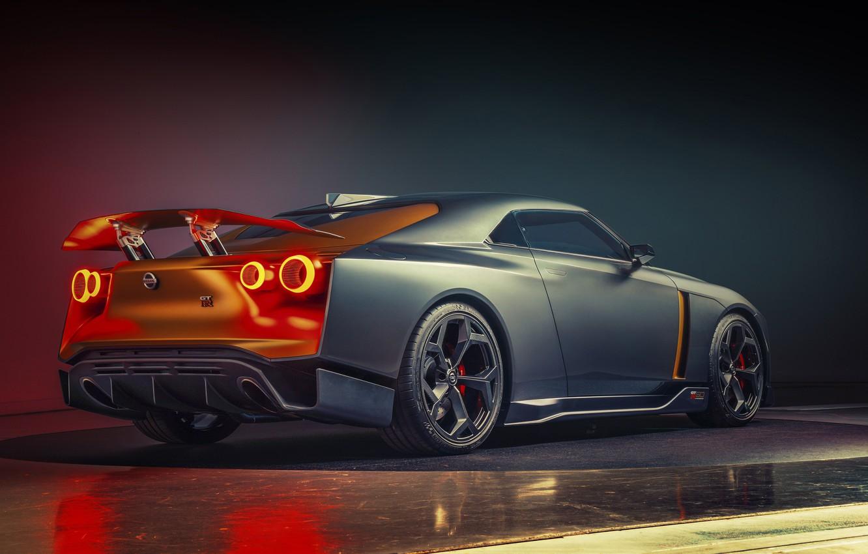 Photo wallpaper Concept, Nissan, 2018, ItalDesign, GT-R50