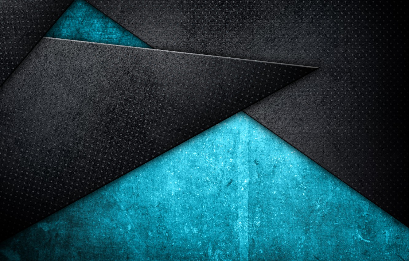 Wallpaper Abstraction Texture Geometry Blue Abstract