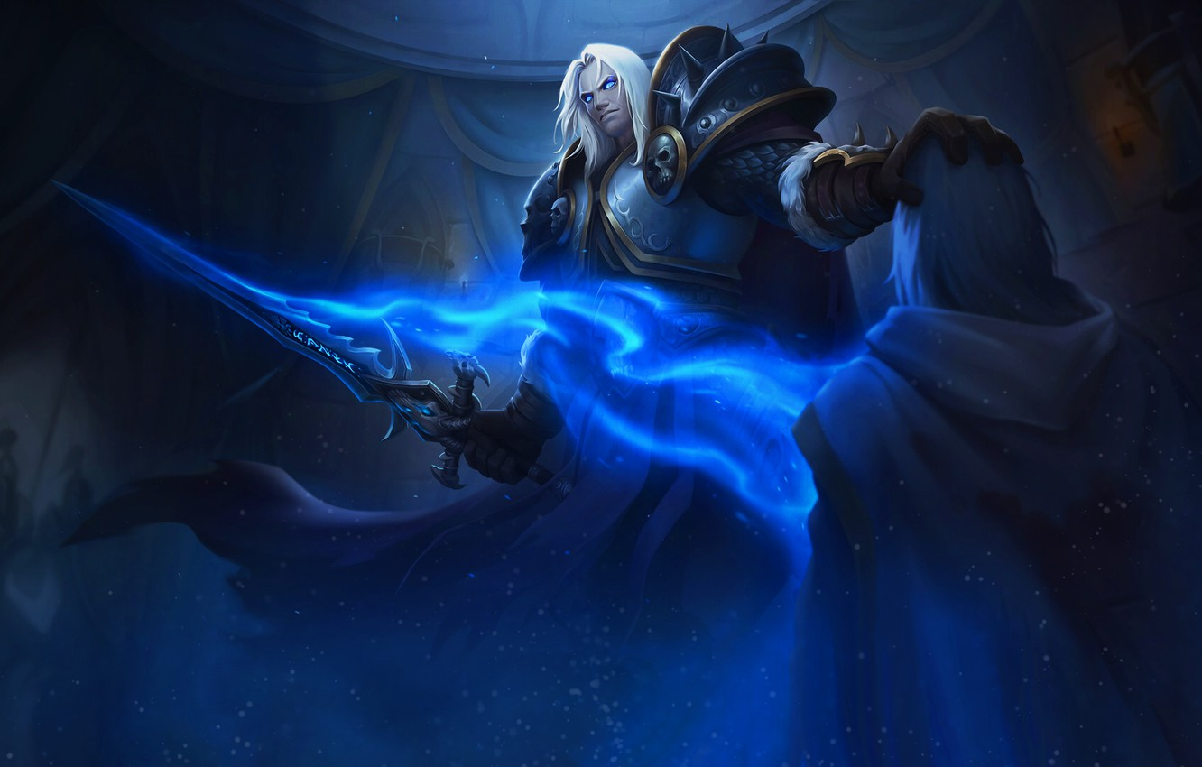 Wallpaper King Wow Lich King Warcraft Blizzard Paladin