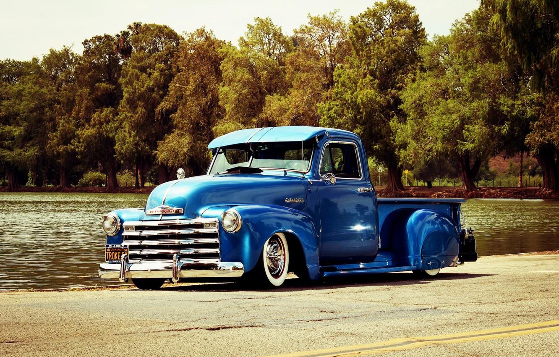 Photo wallpaper Chevrolet, Lowrider, Custom, 3100