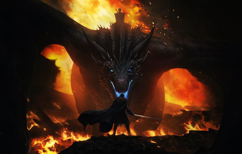 Dragon, Fire, Lizard, Mouth, Flame