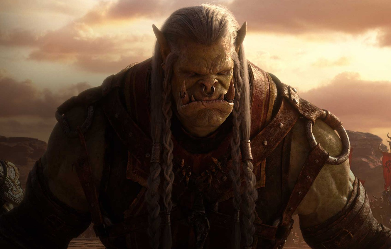 Wallpaper Orc Blizzard Entertainment World Of Warcraft The