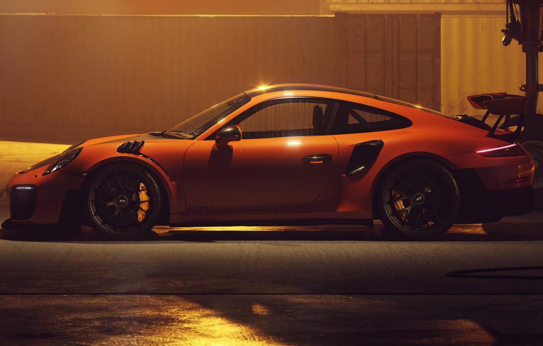 Photo wallpaper 911, Porsche, 2018, GT2 RS