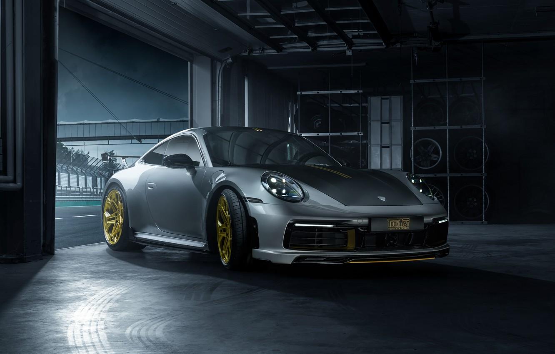 Photo wallpaper 911, Porsche, Carrera, TechArt, 992, 2019