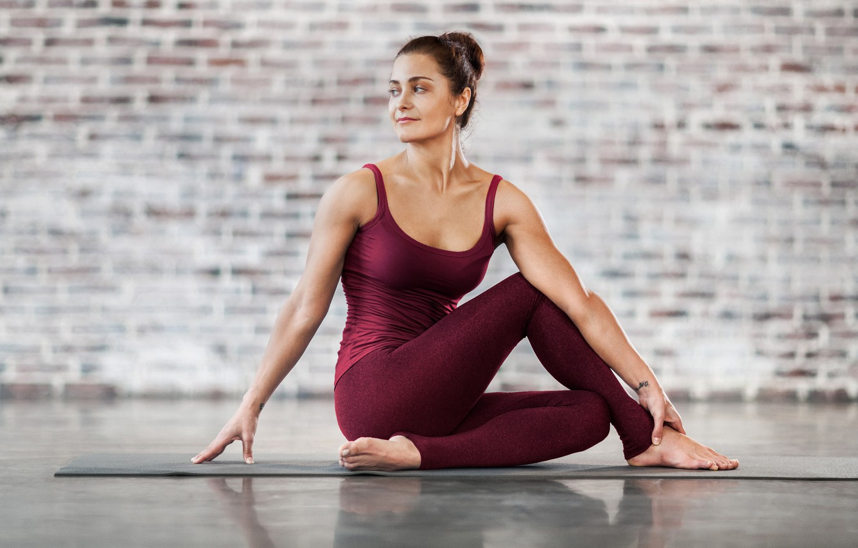 Photo wallpaper fitness, yoga, pilates, activewear