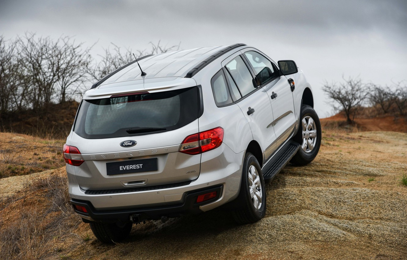 Photo wallpaper Ford, back, Everest, 4WD, 2015, XLS