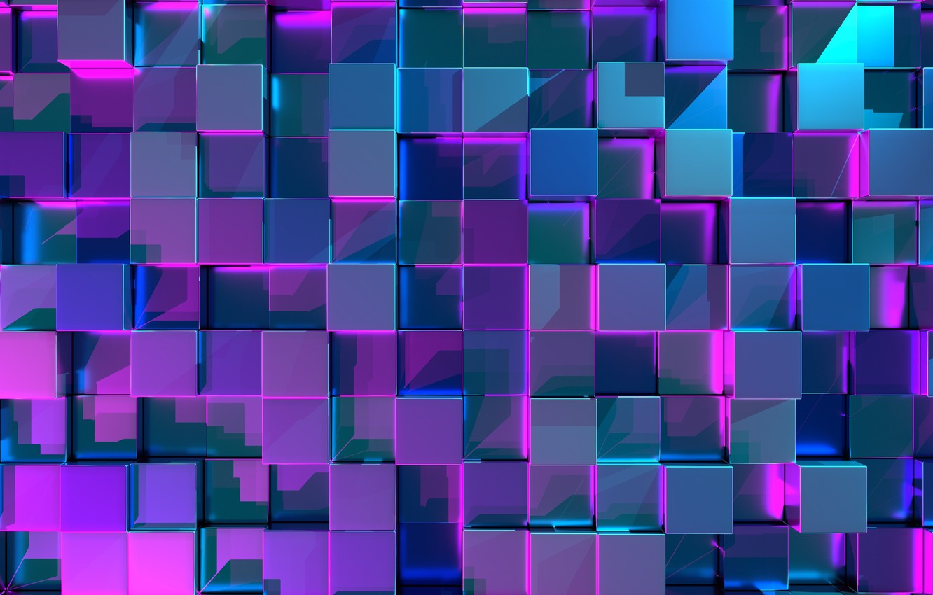 Photo wallpaper background, texture, cube, Abstraction