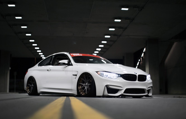 Photo wallpaper BMW, F82, M4
