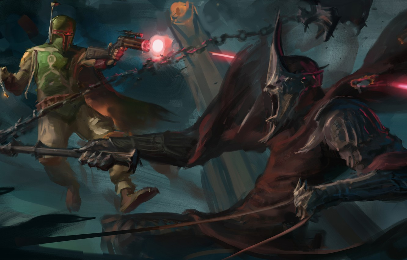 Wallpaper Fiction Star Wars Art Nazgul Crossover Lord Of The