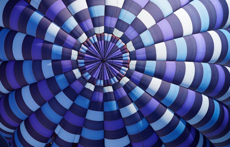 Photo wallpaper canvas, balloon, top